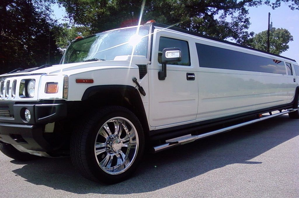 White Hummer Stretch Limo Stretch Hummer Limo Stretch