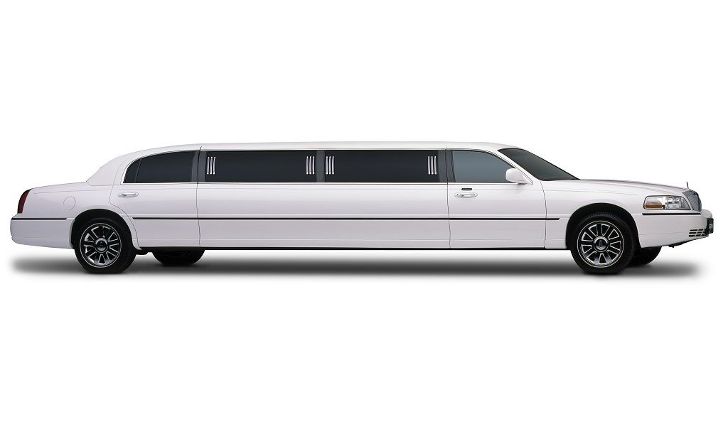 White Lincoln Town Car Stretch Limo White Lincoln Town
